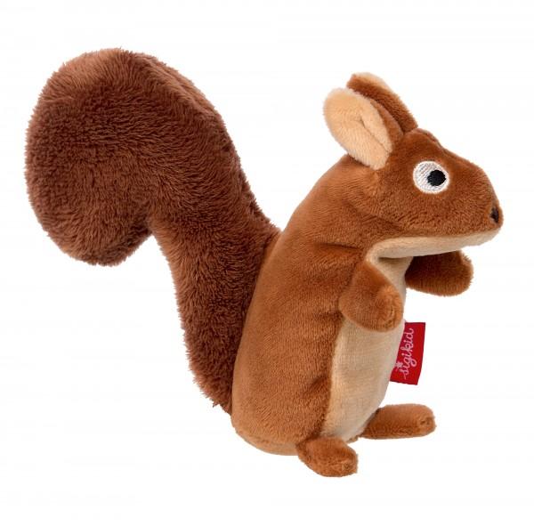Baby Rassel Eichhörnchen, Red Stars