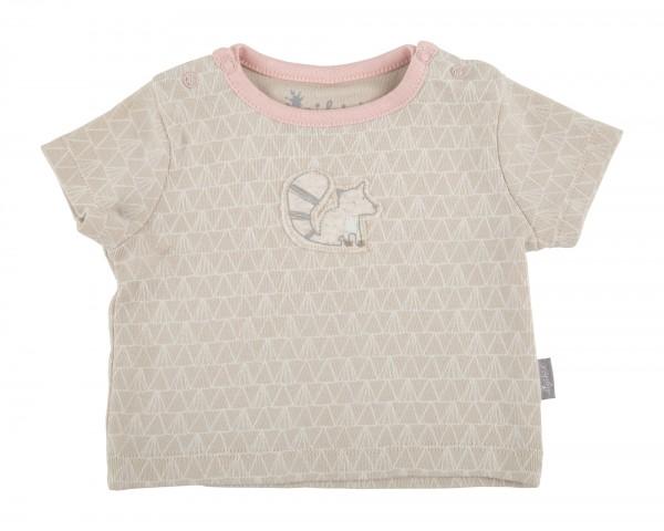 Niedliches Baby T-Shirt rosa und beige