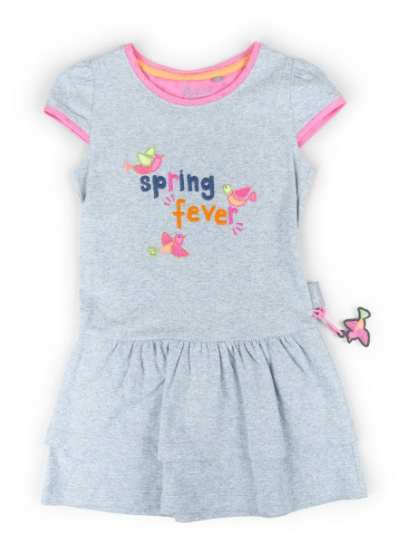 Sommerliches Volant Kleid Spring Fever