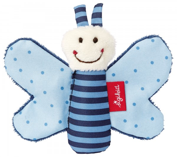 Knister-Schmetterling, blau