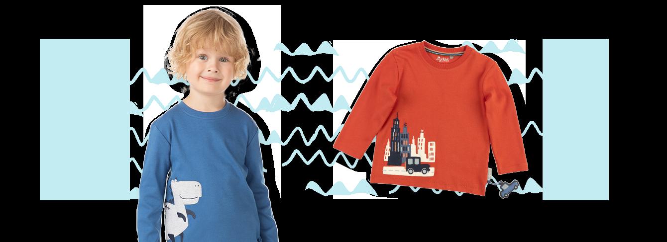 Mode für Mini Jungs von 3-8 Jahren